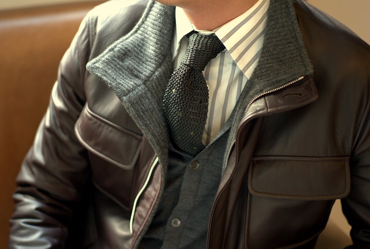 Профессиональная химчистка кожаной куртки